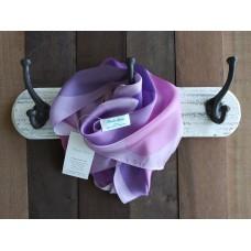 Amethyst Long Silk Scarf