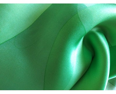Emeralds Long Silk Scarf